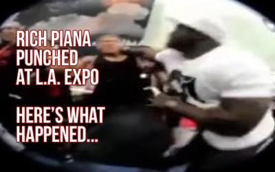 Rich Piana Punched At The LA Expo