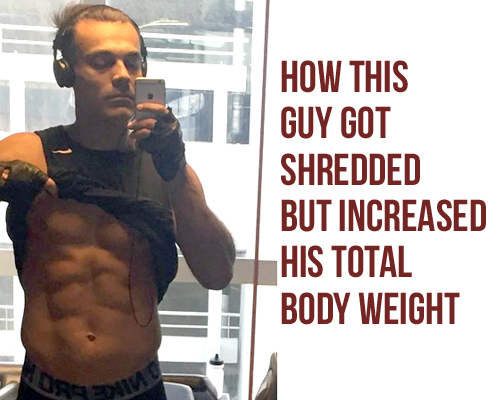 How To Get Shredded Abs Without Losing Weight