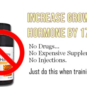 Increase Growth Hormone 1700%