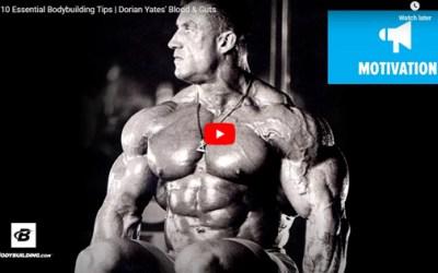 Dorian Yates' Top 10 Bodybuilding Tips