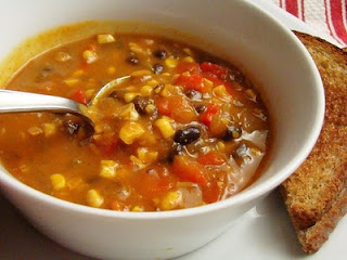 Summer Tex Mex Soup