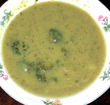 Broccoli Floret Soup