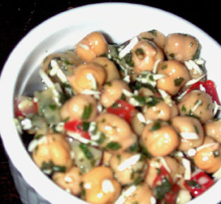 Herby Chickpeas