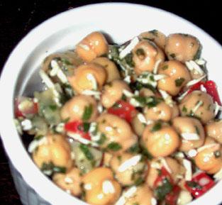 Parmesan Chickpea Side