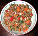Mediterranean Lentils