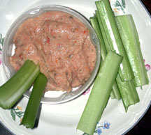 rosemary sun-dried tomato dip