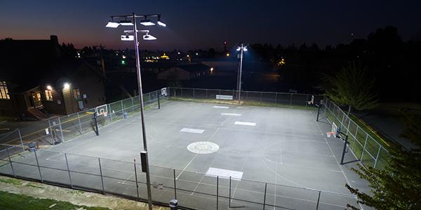 Led Light Basketball