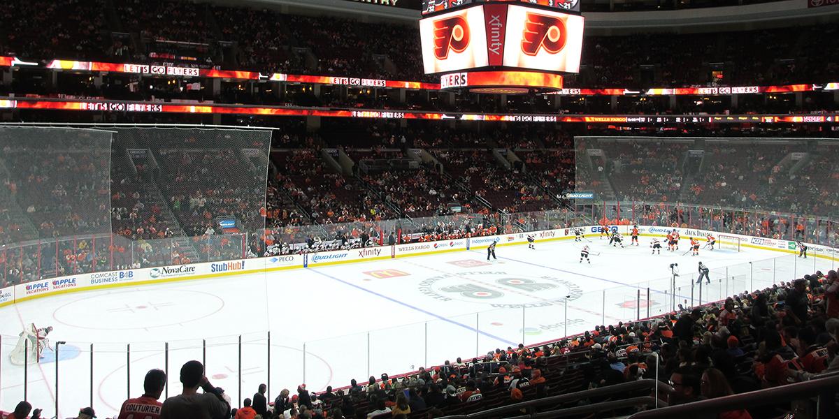 Image result for wells fargo center philadelphia hockey
