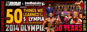 OLYMPIA14 50thingwelearned