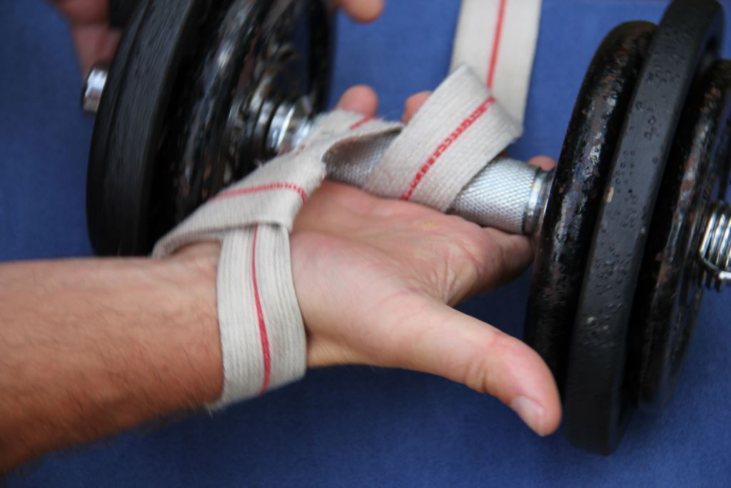 Sangle de tirage pour la musculation