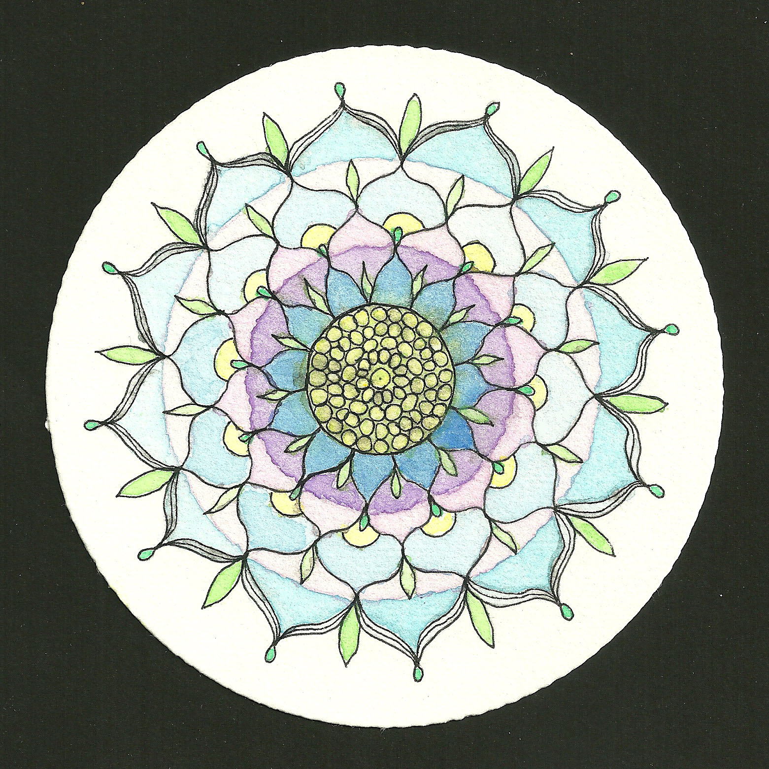 Mandala Magic Lotus Flower Mandala Muse Creative Arts