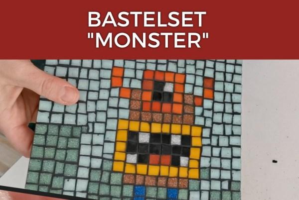 Mosaik Bastelset Monster