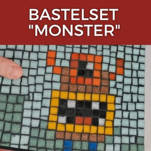 Mosaik Bastelset Monster
