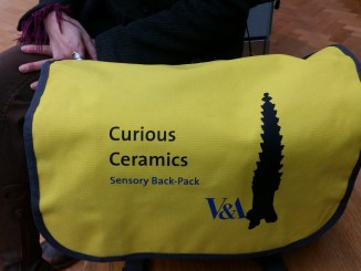 Curious Ceramics bag