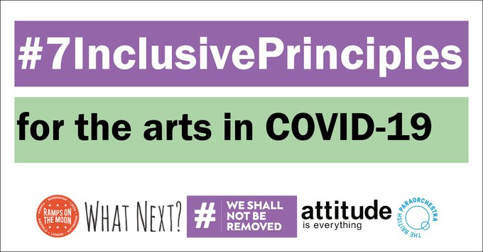 7 Inclusive Principles for the Arts In COVID-19