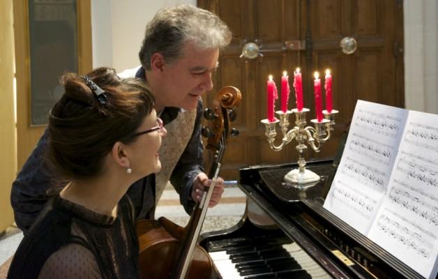 Marcia Hadjimarkos et Alain Gerveau