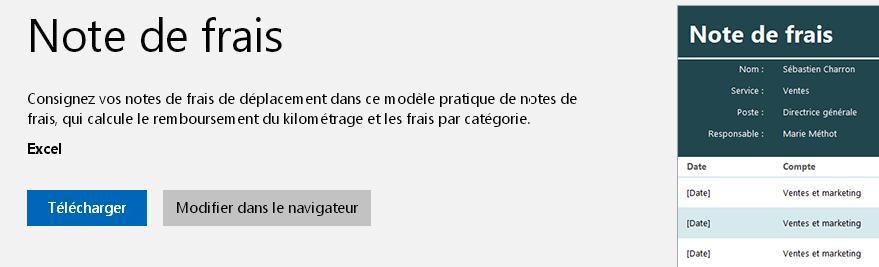 Où Trouver Un Modèle De Note De Frais