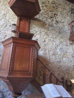 Chaire du musée du protestantisme dauphinois