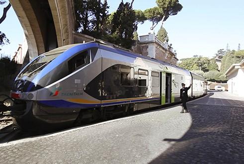 kereta api di Vatican