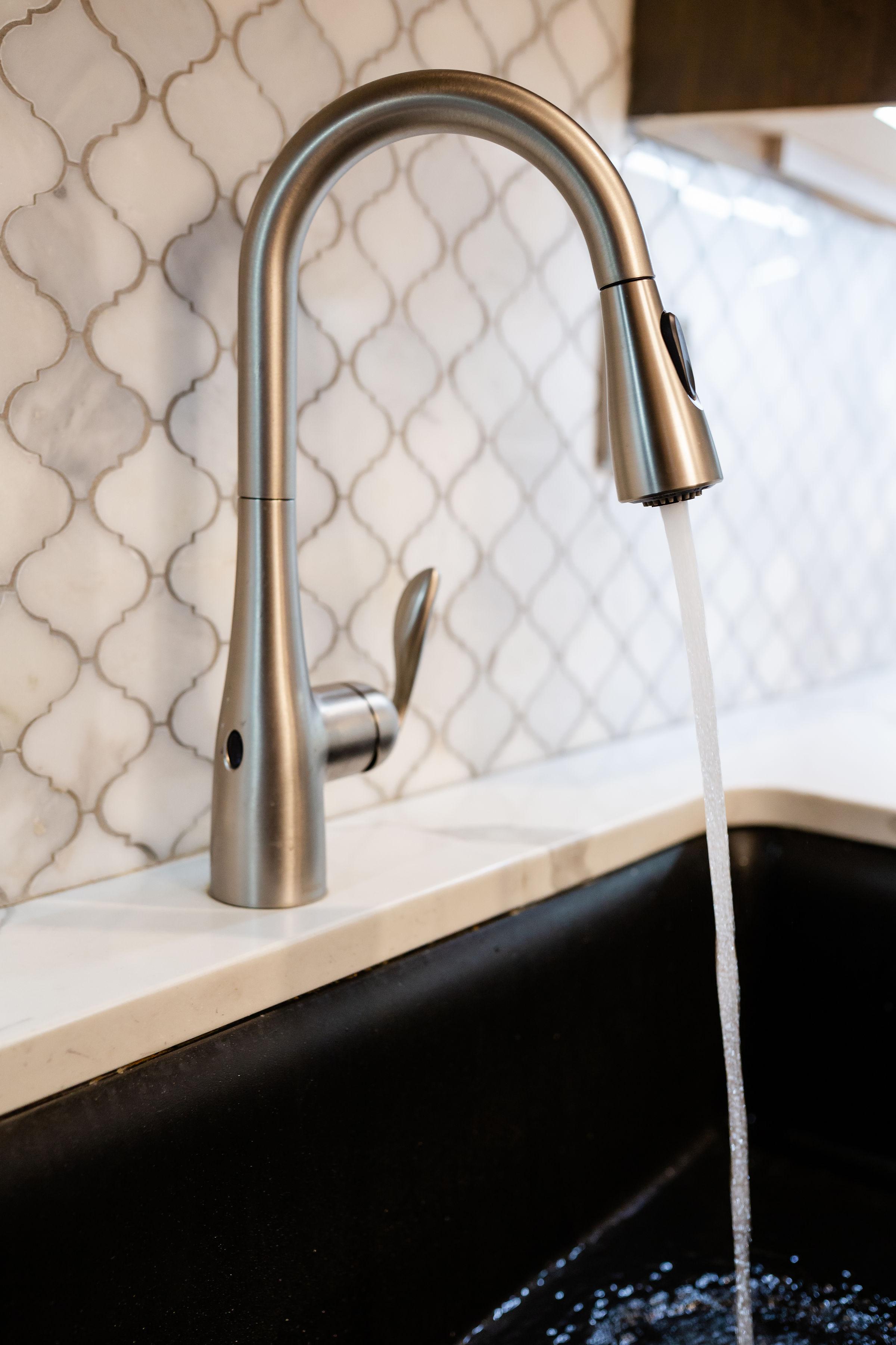moen motionsense kitchen faucet muse