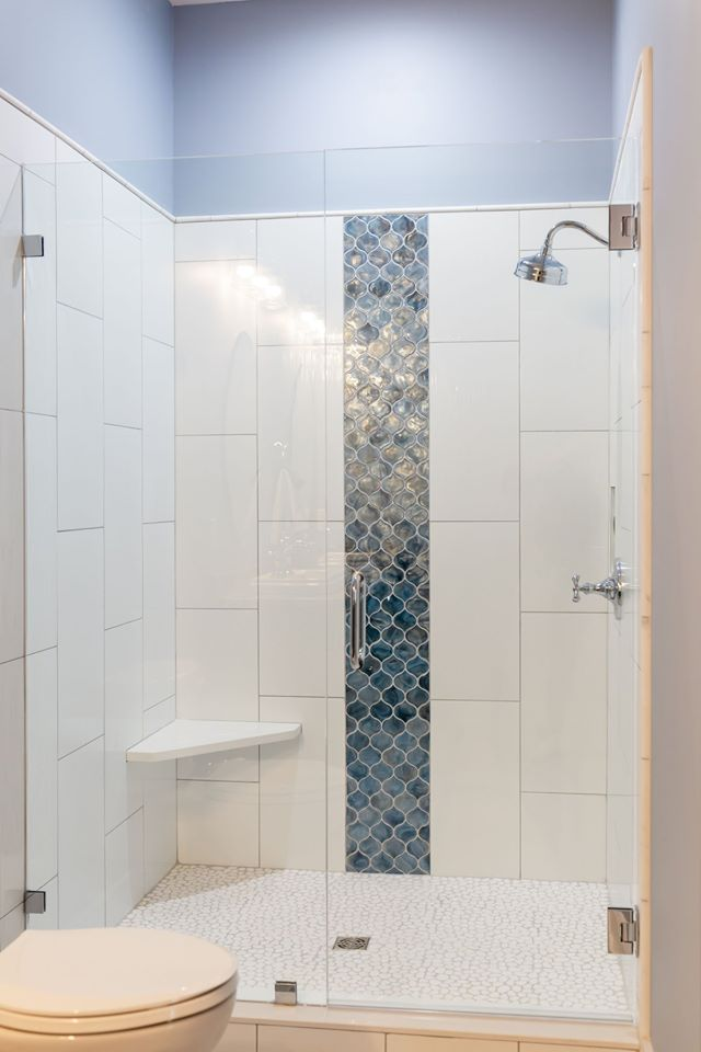 blue shimmer glass mosaic muse