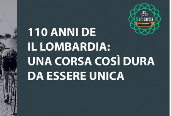 110 ANNI DE IL LOMBARDIA: UNA CORSA COSÌ DURA DA ESSERE UNICA Mostra fotografica al Museo del Ciclismo Madonna del Ghisallo  01.11.2016 – 01.11.2016
