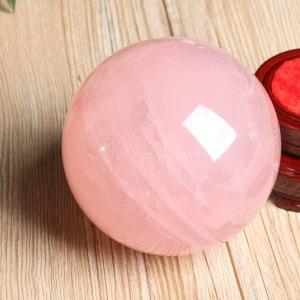03-Bola de Cristal Rosa Meditación - 8cm