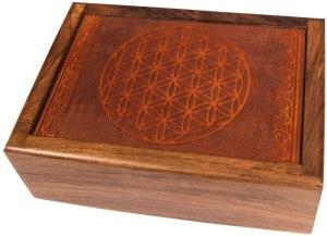 01-Caja para tarot Flor de la Vida
