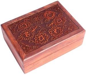 01-Caja para tarot Siete Chakras
