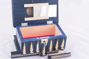 09-Caja para tarot llave oculta azul