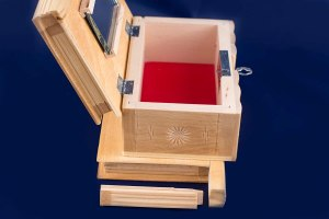 09-Caja para tarot llave oculta blanco