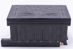 05-Caja para tarot llave oculta Negro