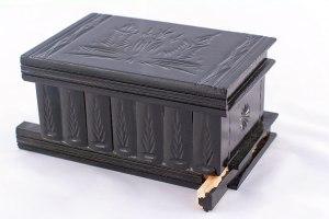 06-Caja para tarot llave oculta Negro