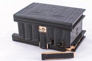 08-Caja para tarot llave oculta Negro