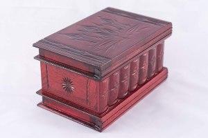 03-Caja para tarot llave oculta Rojo