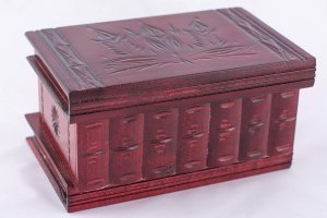 04-Caja para tarot llave oculta Rojo
