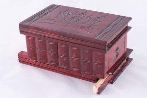 06-Caja para tarot llave oculta Rojo