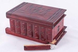 07-Caja para tarot llave oculta Rojo