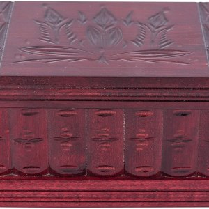01-Caja para tarot llave oculta Rojo