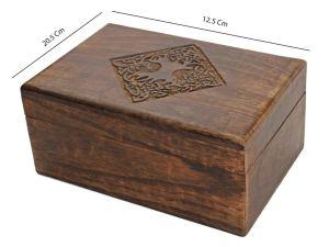 04-Caja para tarot con motivo celta