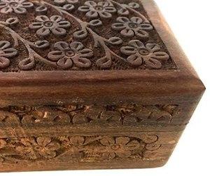 02-Caja para tarot flores