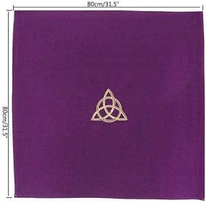 03-Mantel para tarot Wicca - Morado