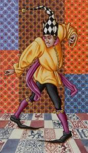 Medieval Tarot  El Loco