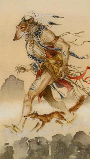 Native American Tarot  El Loco