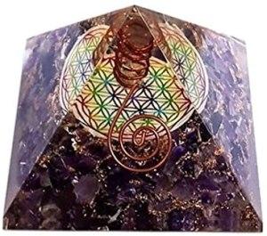 01-Pirámide Amatista Flor de la Vida