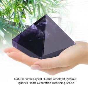 02-Pirámide Energía Amatista Púrpura