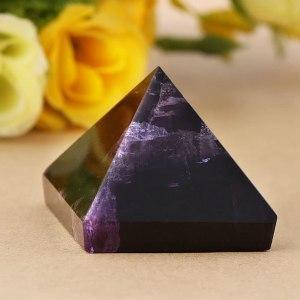 05-Pirámide Energía Amatista Púrpura