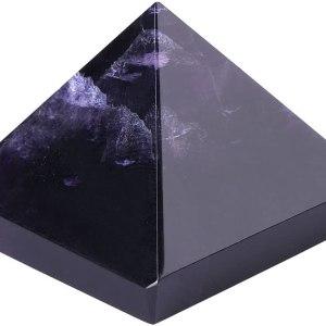 01-Pirámide Energía Amatista Púrpura