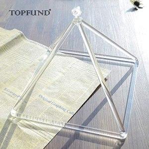 01-Pirámide Energía Cristal de cuarzo Tibetano