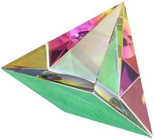 03-Pirámide Energía Cristal iridiscente 8cm